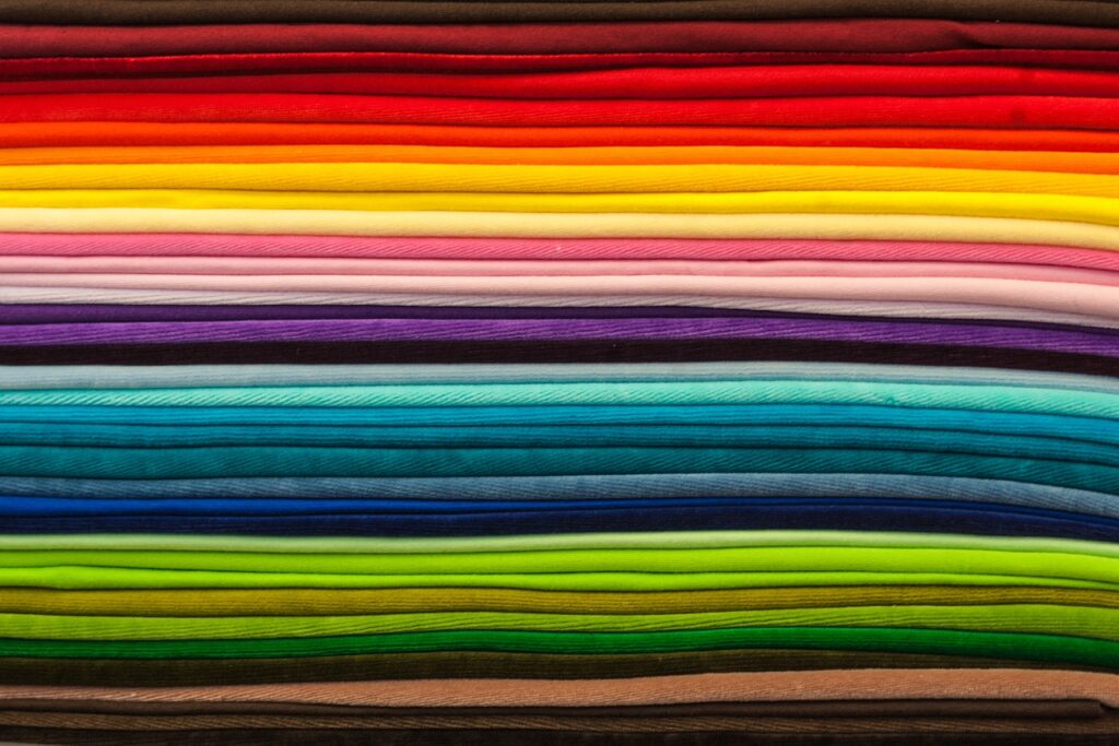 textile, color, colorful